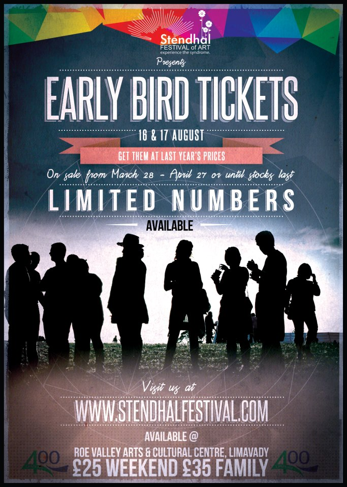 stendhal 2013 early bird tickets