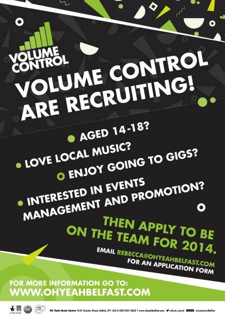 volume control recruiting 2014