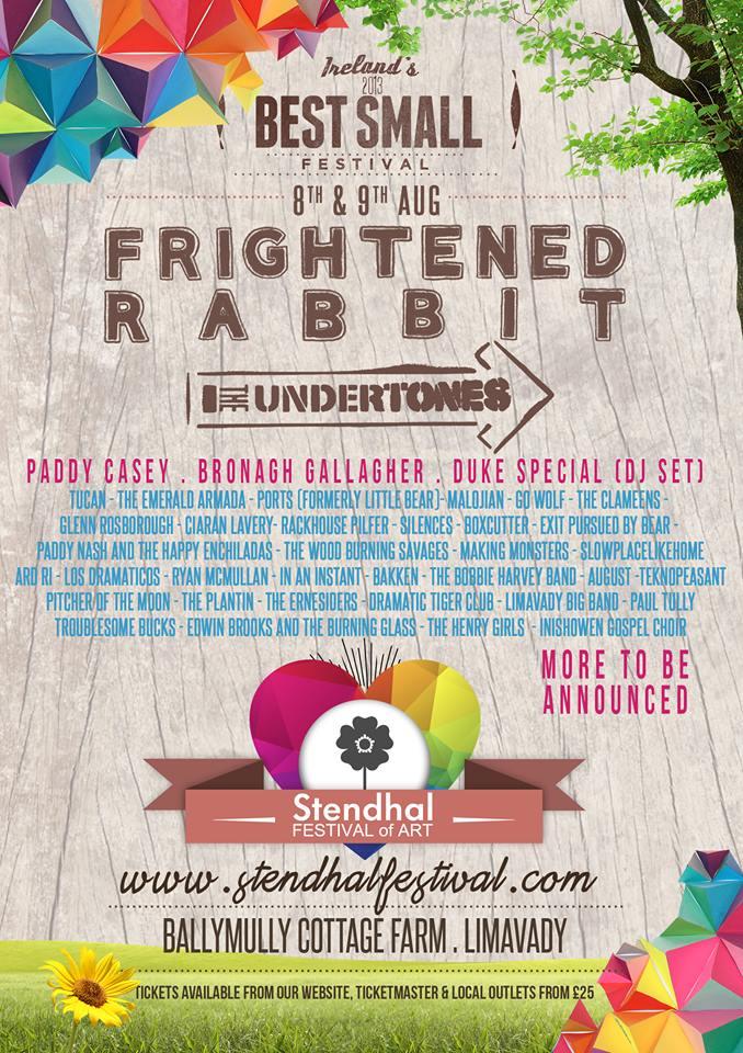 stendhal festival of 2014 poster