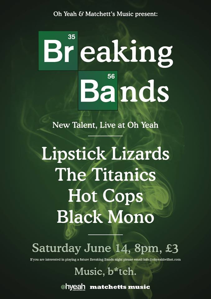 breaking bands #3 poster