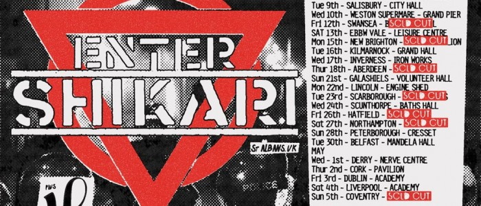 Enter Shikari &#8211; 1st May 2013