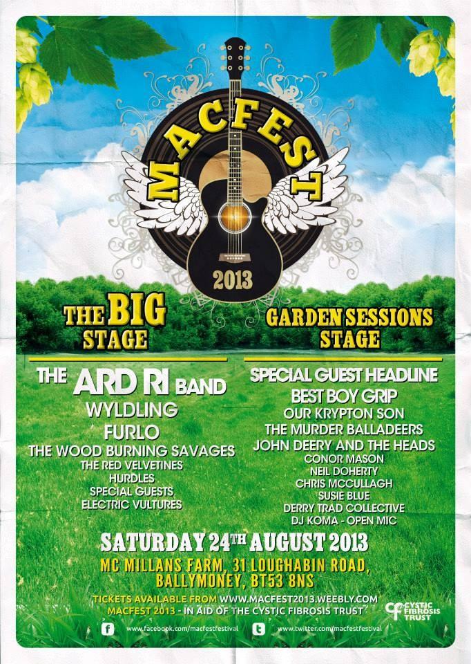 MacFest2013 festival poster