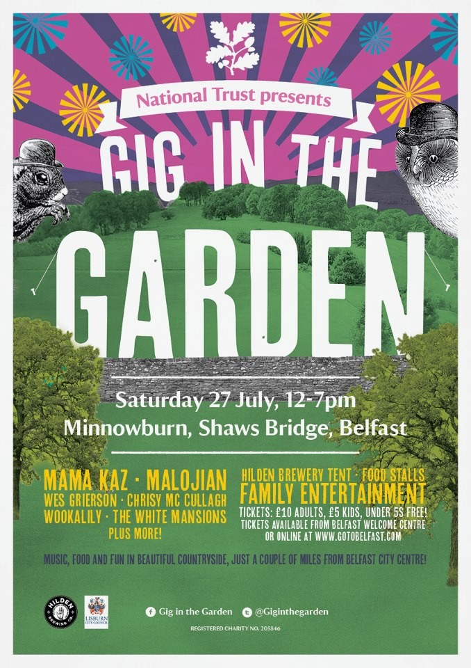 gig in the garden 2013 poster