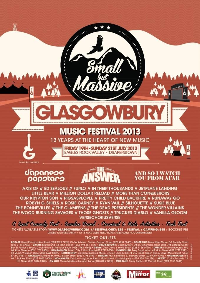 glasgowbury 2013 poster