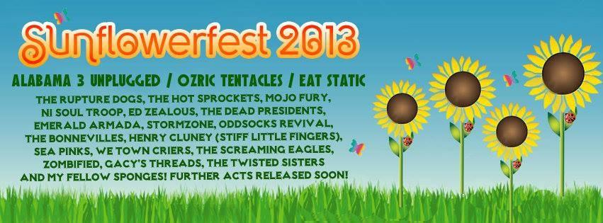 sunflower festival 2013 poster