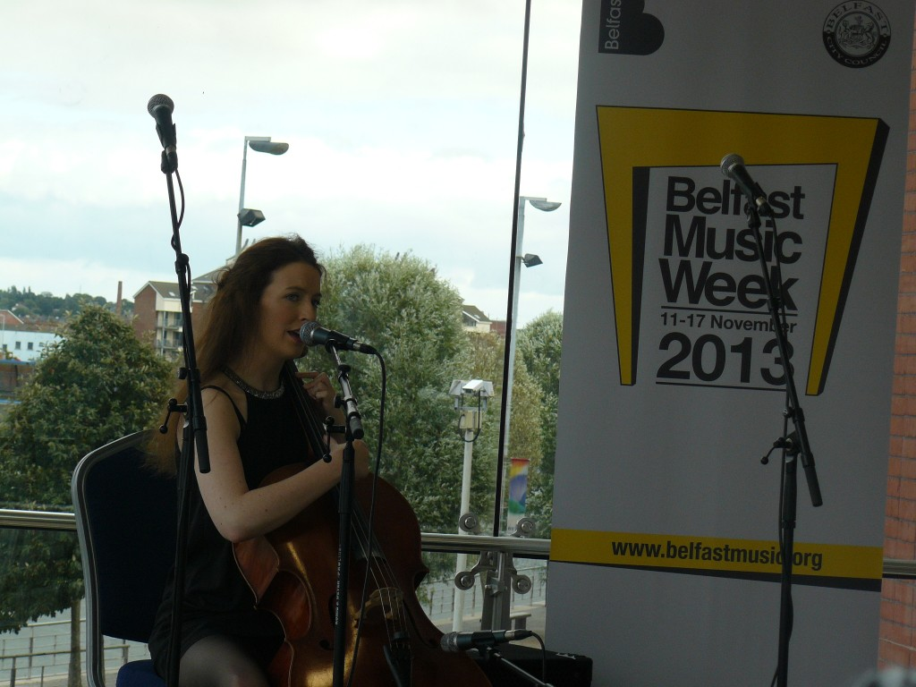 alana henderson launches belfast music week 2013