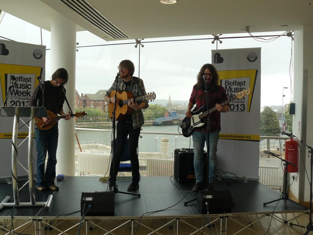 Emerald Armada at Belfast Music Week 2013 launch